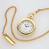 Ginza gas light pocketwatch & clock
